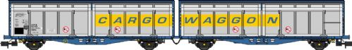 Revolution Trains  NIZA-2104  Revised livery Cargowaggon twin sets – single pack - N Gauge
